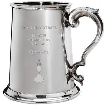 English 1st Division Football Champion Arsenal 1948, 1pt Pewter Celebration Tankard