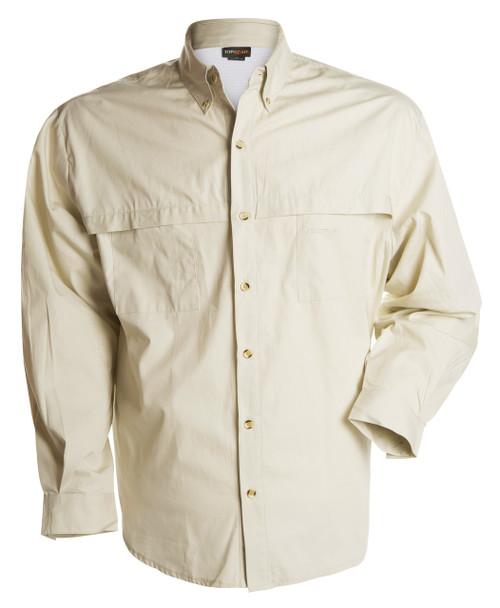 100% Cotton Shirt - Dusky Bone