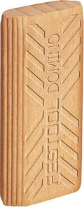 Beech Domino Tenons, 10mm x 24 mm x 50mm, Pack of 510