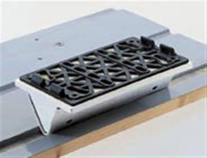 "Soft 25mm (1"") Convex Radius Sander Backing Pad for LS 130 Sander, 80X133, 1 Pack"