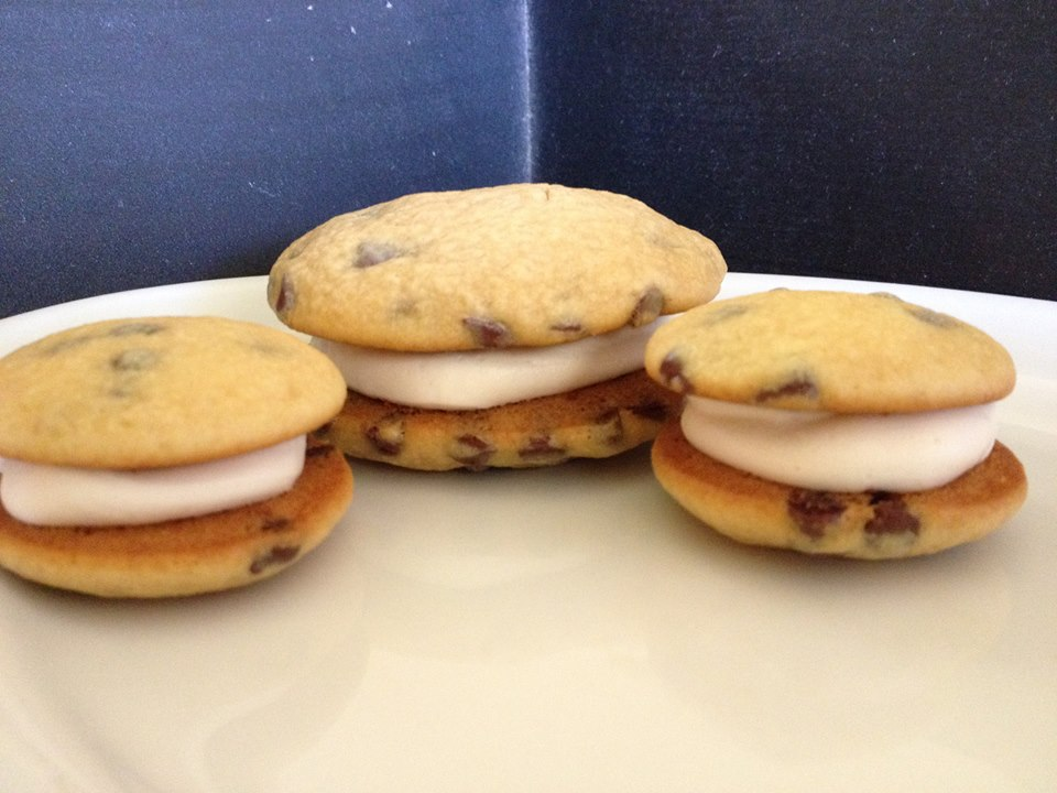 12 Pack- Medium Chocolate Chip Whoopie Pies (Birthday Party Size)