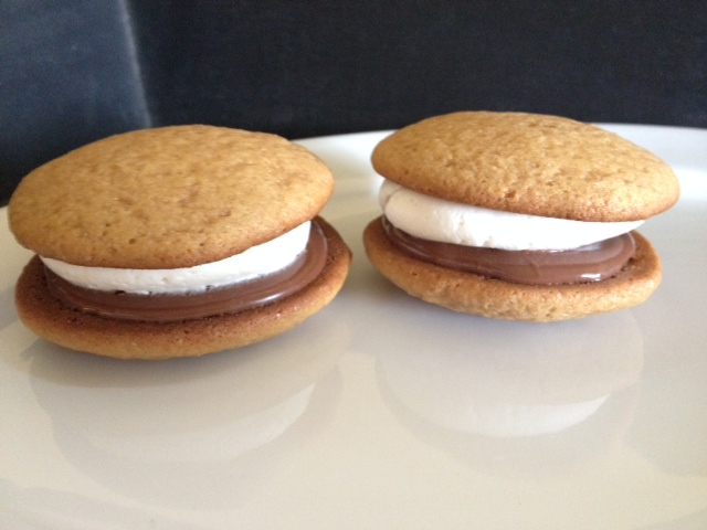 12 Pack- Medium S'Mores Whoopie Pies (Birthday Party Size)