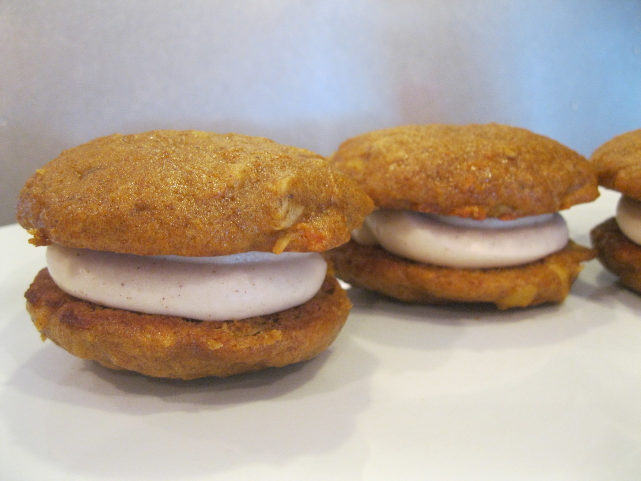 6 Pack- Large Carrot Cake Whoopie Pies