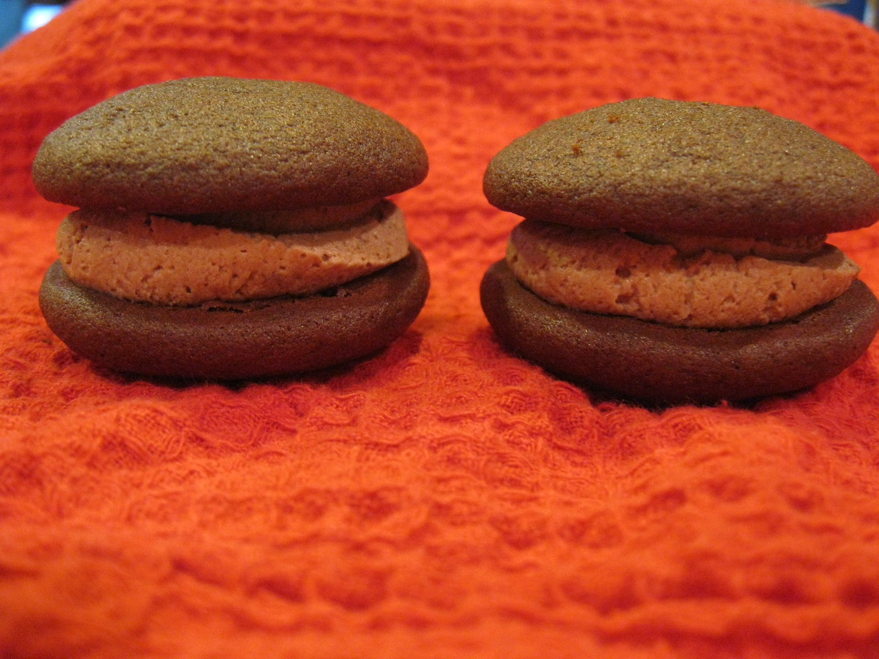6 Pack- Large Chocolate Mousse Whoopie Pies