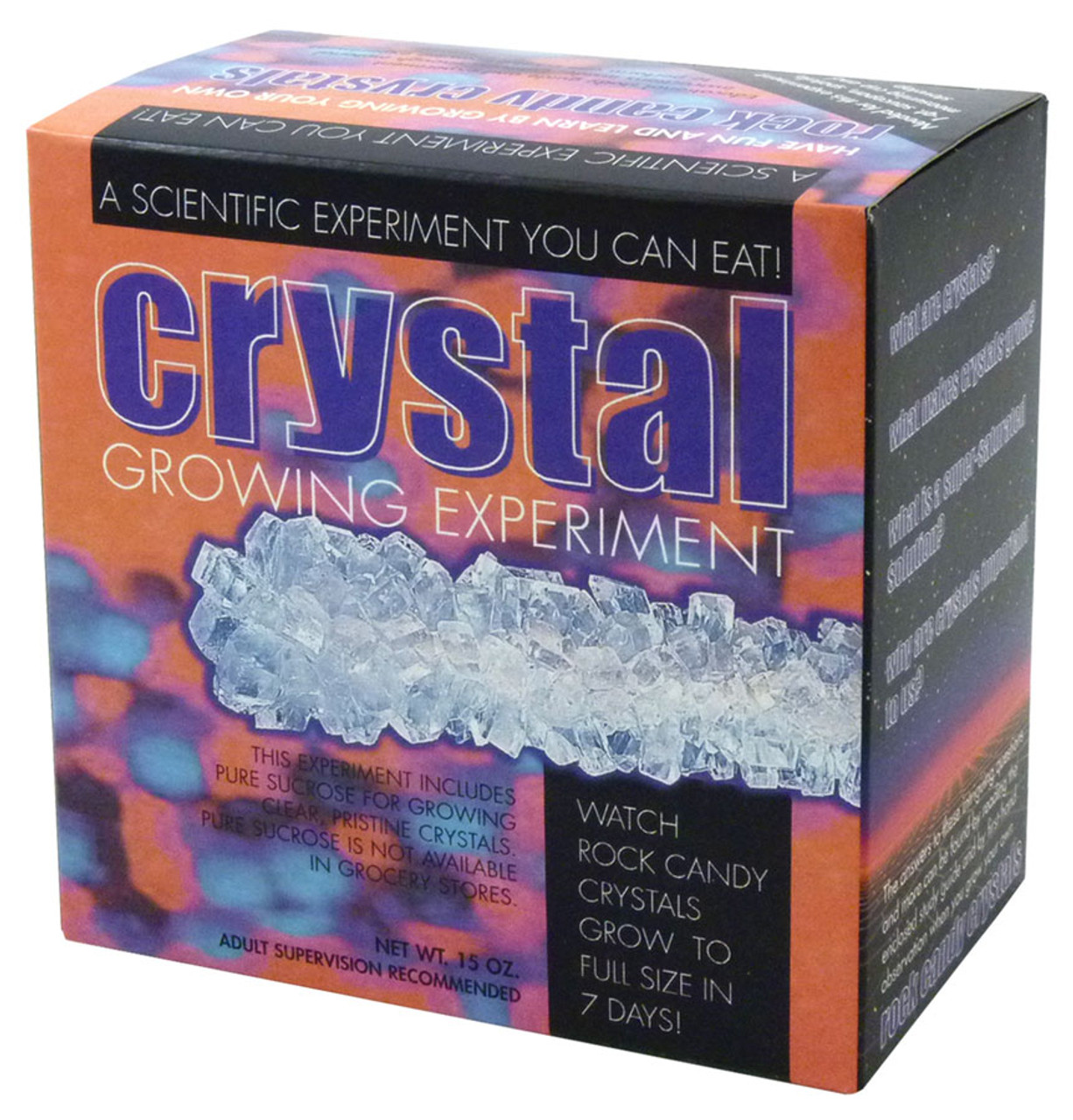 Rock Candy Crystal Growing Experiment Kit