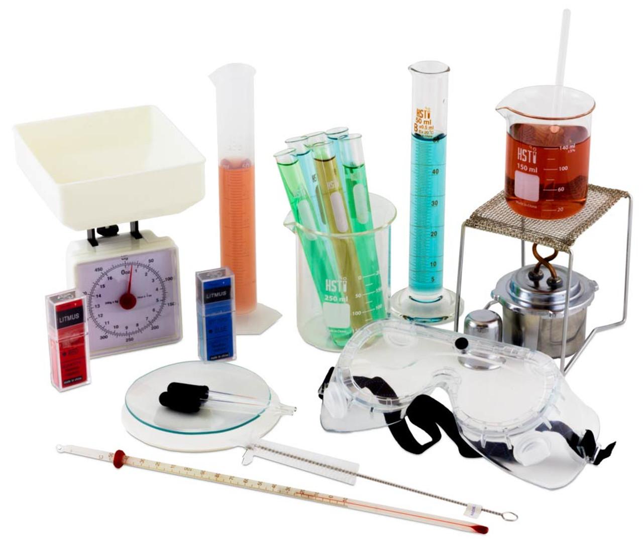 chemistry lab equipment list high school pdf
