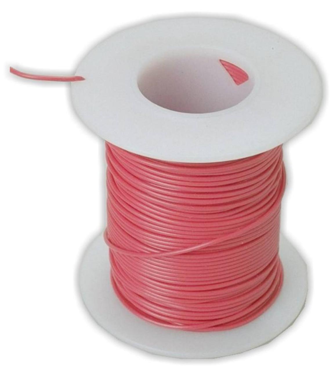 Wire, insulated copper, #24, 100 feet