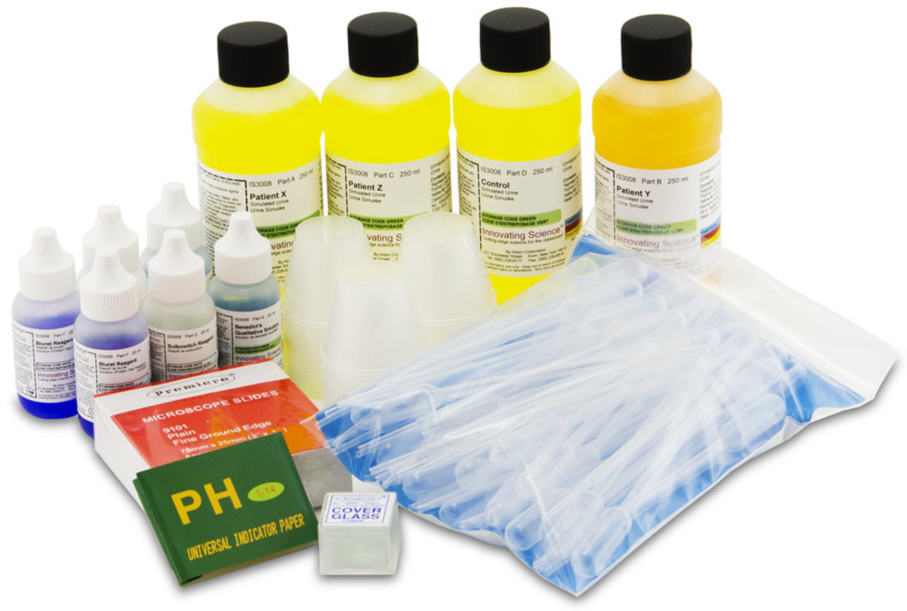 Simulated Urine Urinalysis Kit