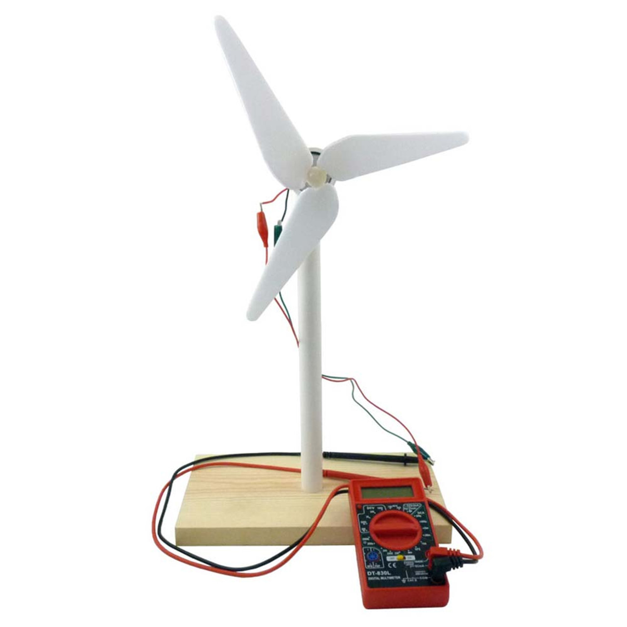 Home Science Experiments Energy Electricity Easy Wind Turbine Kit For Students Tools