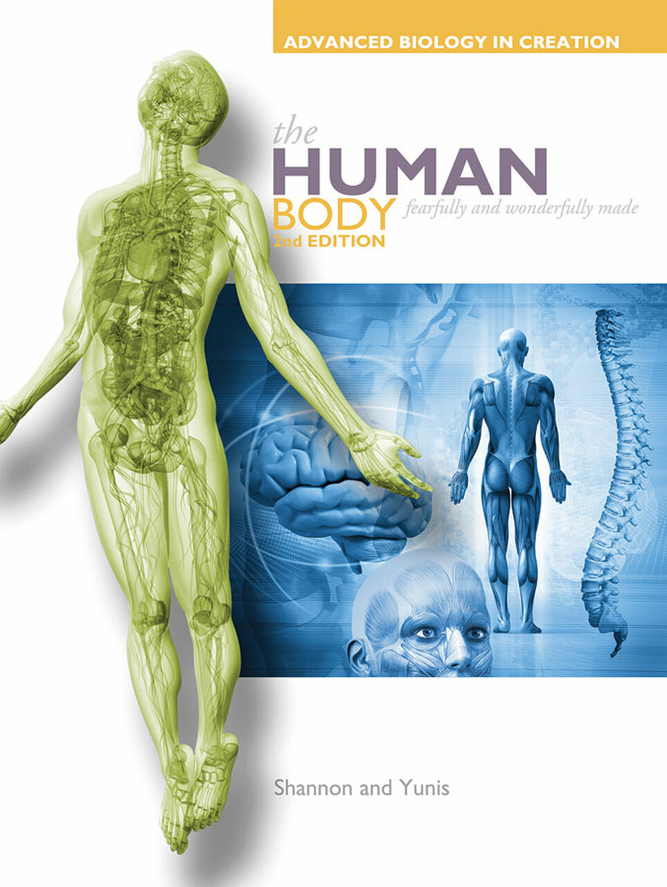 Apologia Advanced Biology Course - Human Body Tests & Book