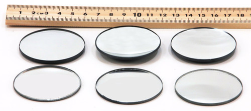 Spherical Mirrors Set of 6, 50 mm