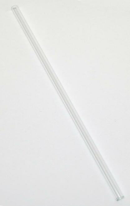 "Glass Tube, 5 mm, 12"" long"