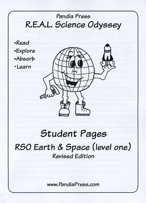 R.E.A.L. Science Odyssey Earth & Space 1 Extra Student Pages