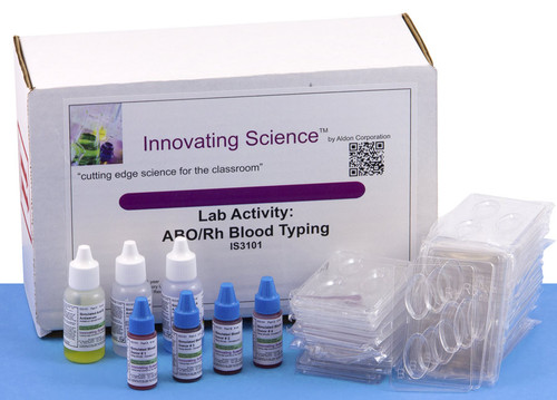ABO/Rh Simulated Blood Typing Kit
