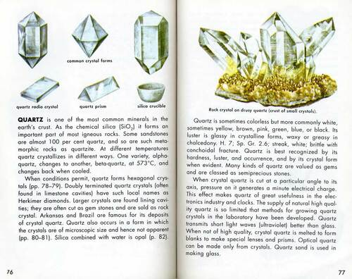 Rocks Minerals & Gems Golden Guide