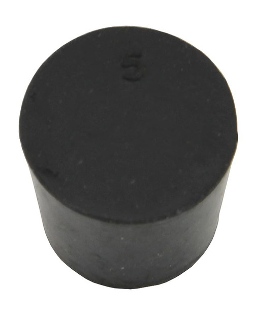Rubber Stopper, #5, solid