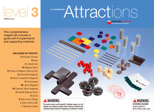 Classroom Magnetic Attractions Kit - Level 3