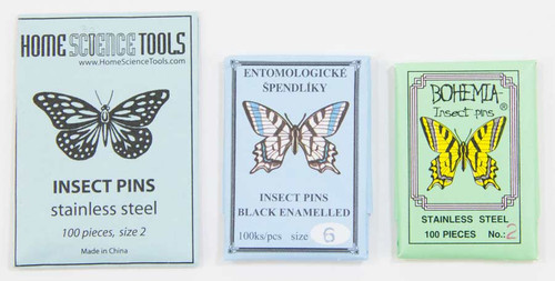 Insect Pins, all sizes