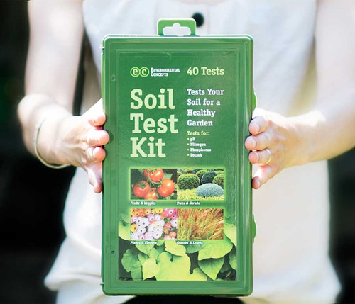 soil test kit box