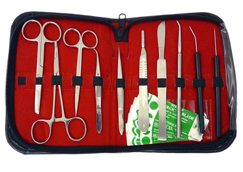dissection tools kit for biology contents