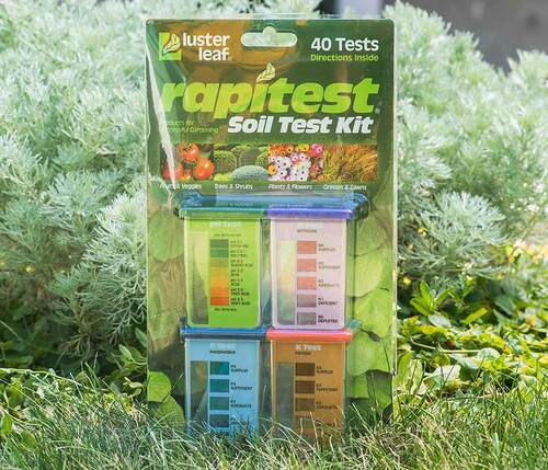 Rapitest soil test kit for Soil nutrient test kit