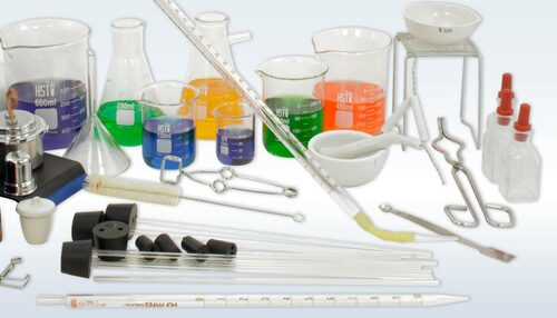 Glass Chemistry Set | Deluxe Glassware & Labware for ...