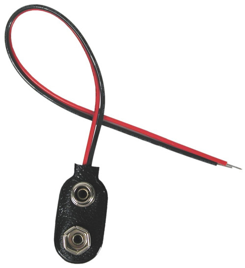 Battery Connector, 9-volt