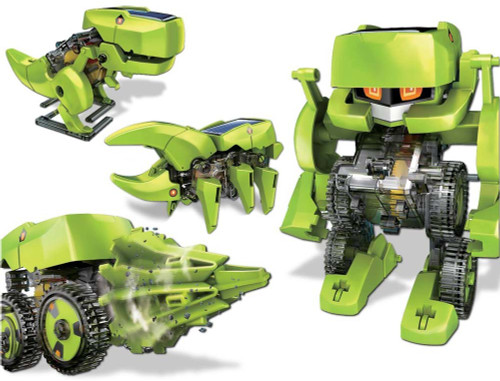 OWI 4-in-1 Transforming Solar Robot