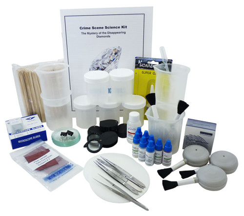 classroom crime scene kit components