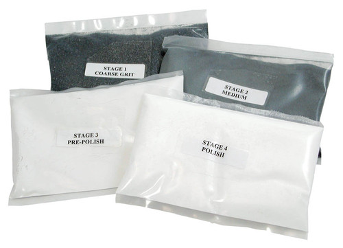 rock tumbler refill kit contents