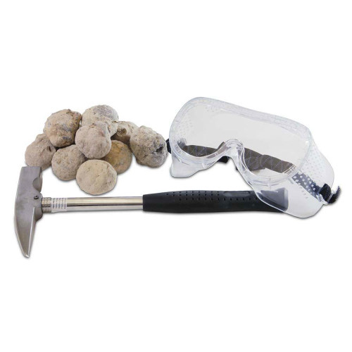 Deluxe Geode Kit with Rock Pick