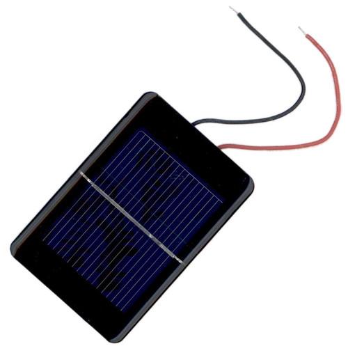 Solar Cell, 0.5 volt, 500 ma