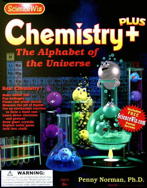 Science Wiz Chemistry Plus Kit