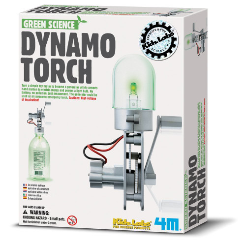 4M Green Science Dynamo Torch Kit