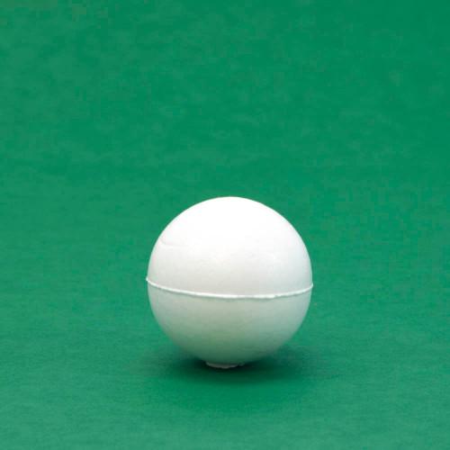"Styrofoam ball, 1.5"" diameter, individual"