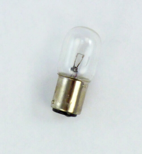 Bulb, 10 watt, 12 volt tungsten bayonet