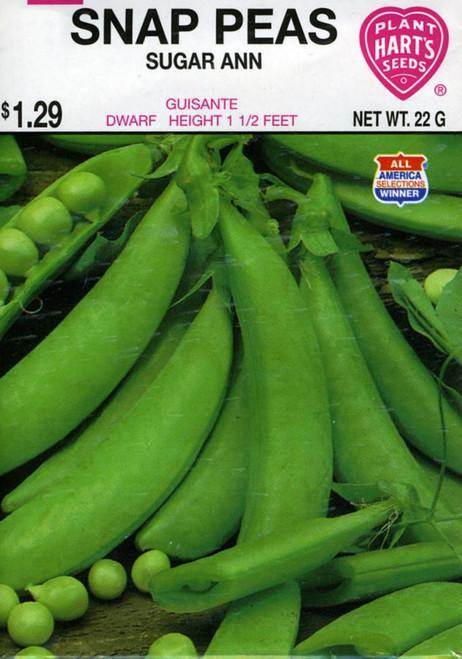 Seeds, pea, pack