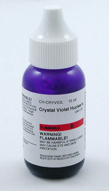 Crystal Violet Hucker's, 15 ml