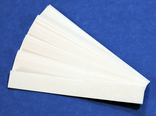 Chromatography Paper Strips, 50 pack