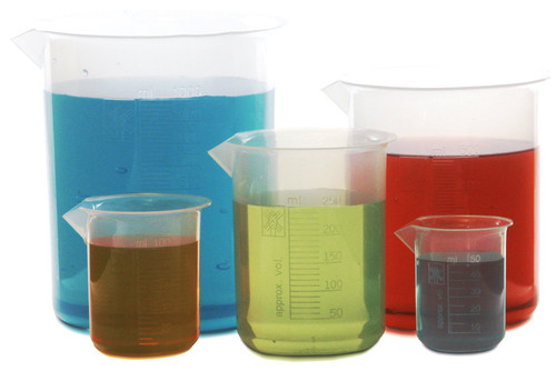 Plastic Beaker Set of 5