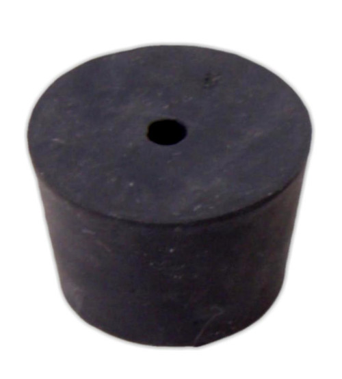 Rubber Stopper, #8, 1-hole