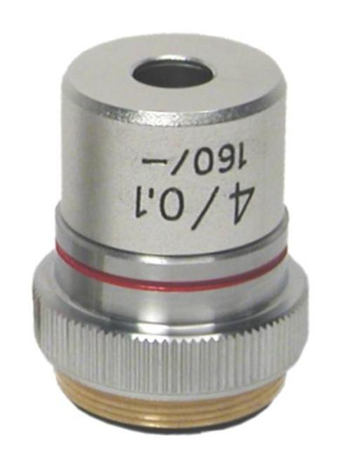 Objective Lens, 4X DIN, 0.10 NA
