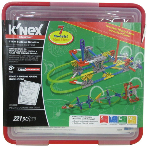 K'Nex - Intro to Simple Machines: Wheels, Axles and Inclined Planes