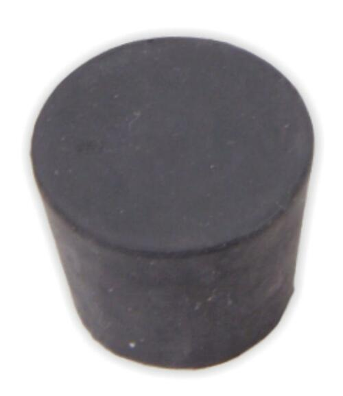 Rubber Stopper, #6.5, solid