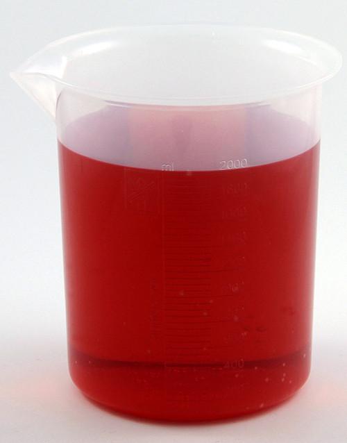 Beaker, polypropylene, 2000 ml