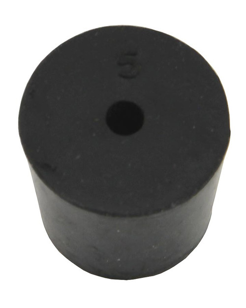 Rubber Stopper, #5, 1-hole