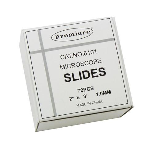 "Microscope Slides, 3"" x 2"", 72 pack"