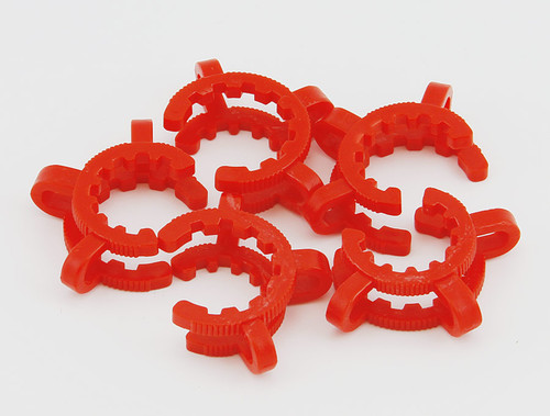 Plastic Standard Taper 24 mm Joint Clips, 5 pack