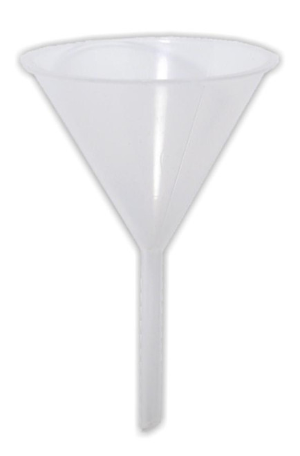 Funnel, plastic, 100 mm dia.