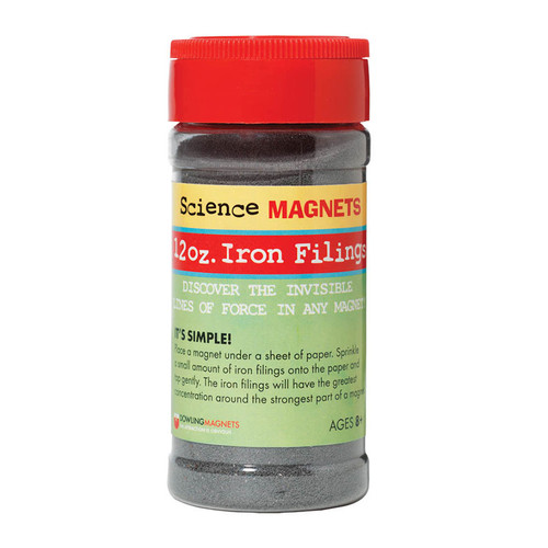 Iron Filings, 12 oz.